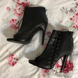 Sexy Lace-Up Booties